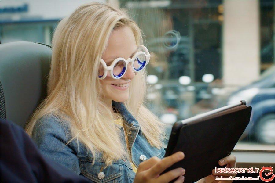 عینک ضد بیماری حرکت