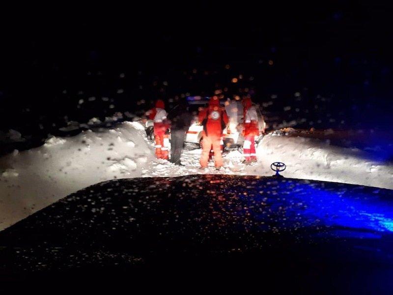 ۷ گمشده در زردکوه نجات یافتند