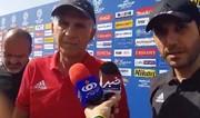 فیلم | انتقاد شدید کیروش از وزیر ورزش: او نمیخواست که من در ایران بمانم