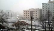 فیلم و عکس | هوای عجیب تهران؛ از بارش تگرگ تا رنگینکمان