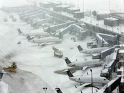 برف سه پرواز داخلی را در فرودگاه امام خمینی (ره) نشاند