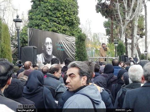 تشییع پیکر زنده یاد حسین محب اهری