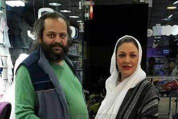 عکس | آرامگاه پیام صابری، همسر زیبا بروفه، ۴۰ روز پس از درگذشت