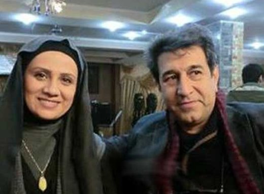 بازیگر زنی که با همسرش تماشاگر بازی ایران و عراق بود/ عکس