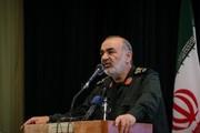 سردار سلامی: آمریکا غلط میکند فکر کند میتواند رزق ما را بدهد/ اگر میتواند ۵۰ میلیون مردم گرسنه خود را سیر کند