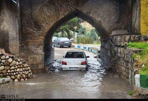 میانگین بارندگی در لرستان به ۴۹۹ میلیمتر رسید