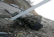 نجات معجزهآسای راننده پژو ۴۰۵ در جاده یاسوج-بابامیدان