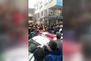 فیلم | سارق مسلح رشت به دام افتاد