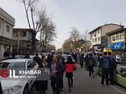 تیراندازی سارق مسلح در رشت/عکس