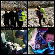 امدادرسانی اورژانس هوایی به خانم باردار بازفتی