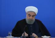 دکتر روحانی درگذشت پدر شهیدان کریمی هویه را تسلیت گفت