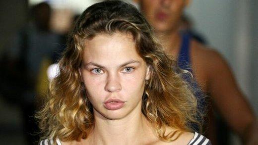 مدل بلاروس، مدعی اطلاع از روابط ترامپ با روسیه، بازداشت شد