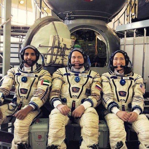 شک و شبهه در تاریخ پرواز فضانورد اماراتی
