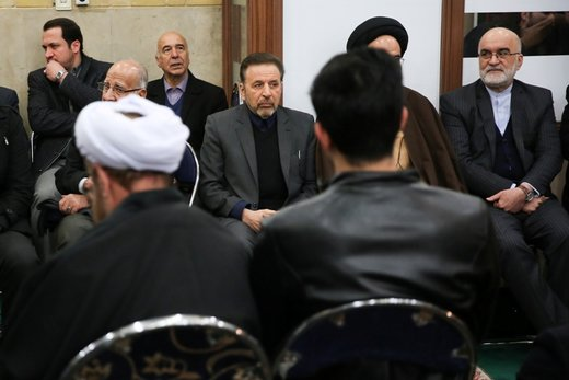 حضور واعظی در مراسم ترحیم اعتمادیان مجاهد انقلابی/ عکس