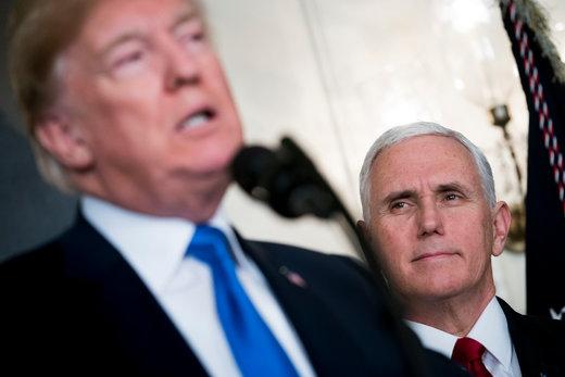 نیویورکتایمز: حدس بزنید جانشین ترامپ کیست؟