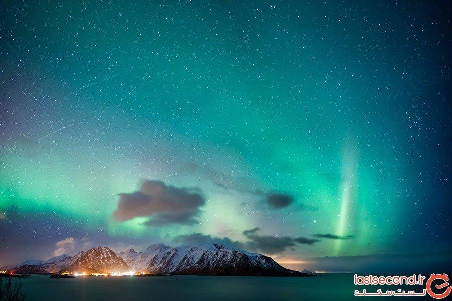 کجا و چگونه میتوان شفق های قطبی را تماشا کرد؟