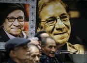 تصاویر | چهرههای سینمایی و تلویزیونی در مراسم ترحیم حسین محباهری