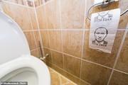 عکس | تصویر پوتین روی دستمال توالت وزیر دفاع انگلیس