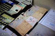تصاویر | کشفیات پلیس از باند جعل اسناد و مدارک دولتی