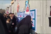 فیلم | درهای پلاسکو برای اولین بار روی خانواده جانباختگان باز شد