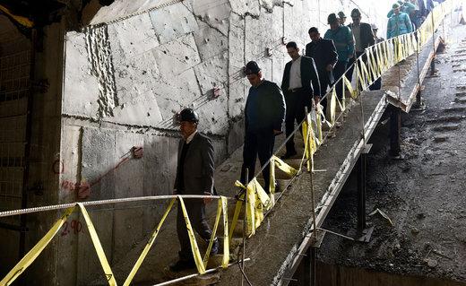 بازدید استاندار از روند تکمیل قطار شهری کرج