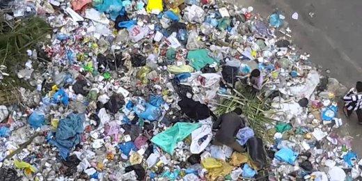 هر اروپایی سالانه چند تن زباله تولید میکند؟