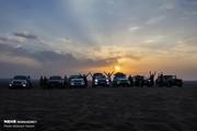 تصاویر | هیجان کویرگردی در مرنجاب