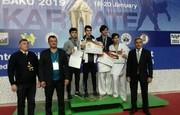درخشش کاراته کار چهارمحال و بختیاری در مسابقات بین المللی