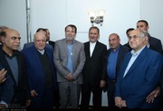 افتتاح پروژه گازرسانی استان کرمان توسط جهانگیری /عکس