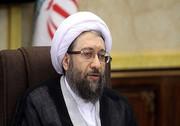 پیام رئیس مجمع تشخیص مصلحت نظام به آیتالله العظمی سیستانی