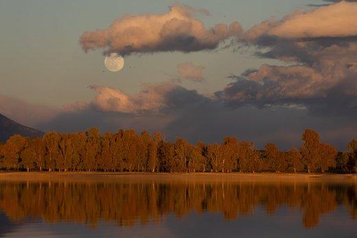 ماه گرفتگی در استان تولدو اسپانیا