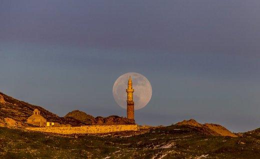 ماه کامل در ترکیه