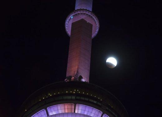 ماه گرفتگی در تورنتو