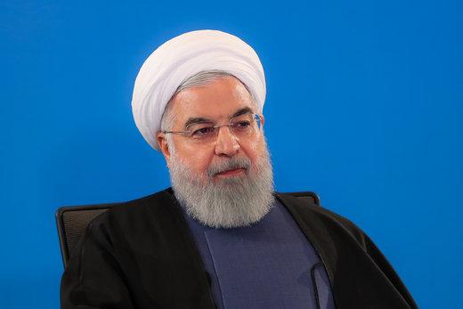 روحانی: همه باید احساس کنیم که در شرایط جنگ هستیم
