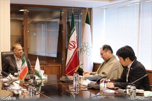 پوشش سفیر ژاپن در دیدار با رییس مرکز پژوهشهای مجلس /عکس