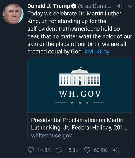 حمله توئیتری جدید به ترامپ: تو خودت سردسته نژادپرستانی!