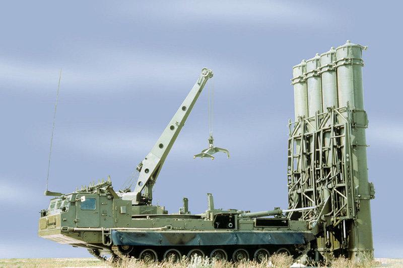 فیلم | لحظه نابودی موشک اسرائیلی توسط اس۳۰۰ روسی