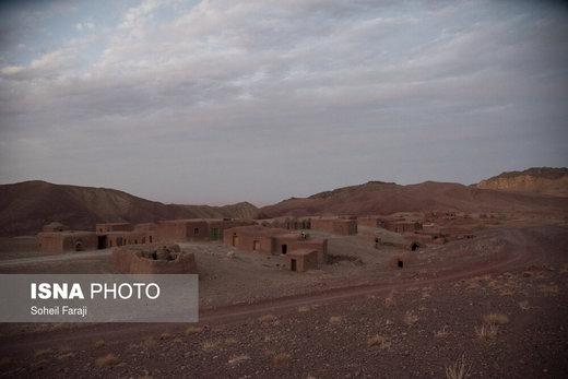 روستاهای اطراف شهرستان سربیشه استان خراسان جنوبی که سکوت و خانههای خالی جایگزین شور و زندگی مردمانشان شده است