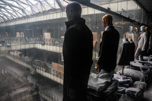فیلم | آتشسوزی بامدادی درباقیمانده واحدهای تجاری پلاسکو