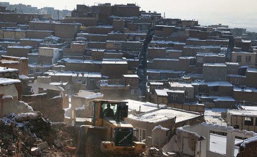 ۱۷۱ واحد مسکونی حاشیه تبریز تخریب و آواربرداری شد