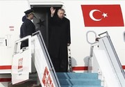 اردوغان برای دیدار با پوتین وارد مسکو شد