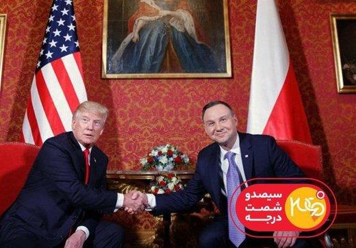 کنفرانس امنیتی لهستان در تلویزیون ایران