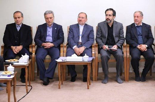 دیدار جمعی از مسئولان و محققان پژوهشکده علوم شناختی با رهبر معظم انقلاب اسلامی