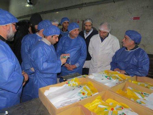 بازدید سرزده مسئولین دامپزشکی استان البرز از کشتارگاه طیور سبز دشت