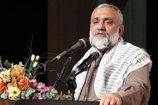 سردار نقدی: دشمن می خواهد مردم را از این نظام ناامید کند/ مراقب نفوذیها باشیم