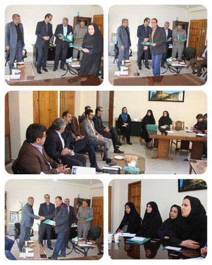 جلسه کمیته تخصصی ارزیابی و رتبه بندی ۵۷ مرکز جهاد کشاورزی  لرستان برگزار شد