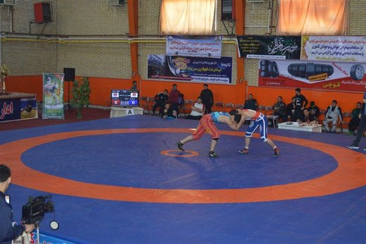 آذربایجانغربی نایبقهرمان رقابت های کشتی آزاد نوجوانان قهرمانی کشور شد