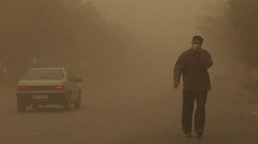 تشدید غبار و افزایش آلایندهها در البرز