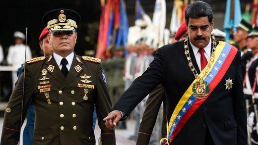 موضعگیری مقامات ارشد نظامی ونزوئلا درباره مادورو