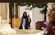 تصویری از تیپ جدید امیر آقایی در فیلمی با بازی لیلا حاتمی